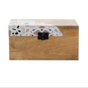Terrazzo Wooden Latch Box